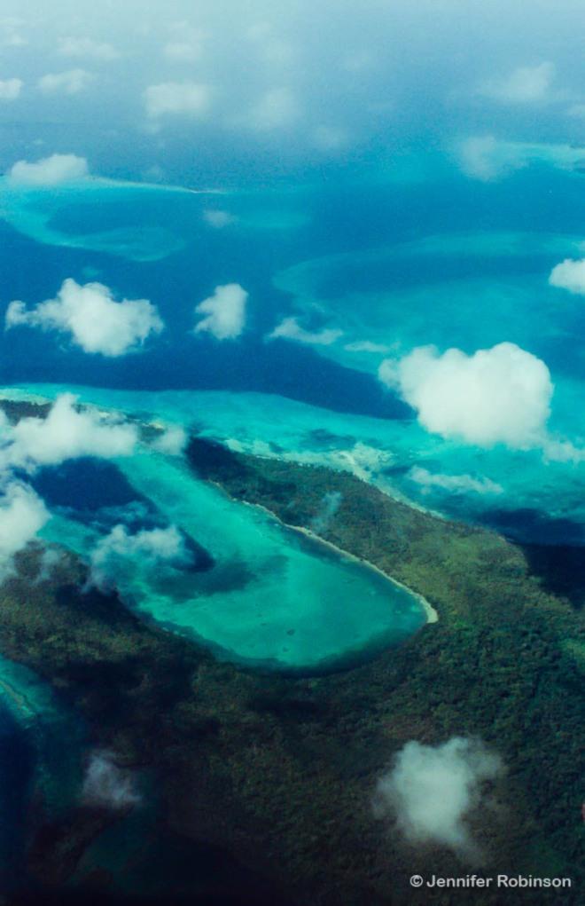 Aerial Solomon Islands
