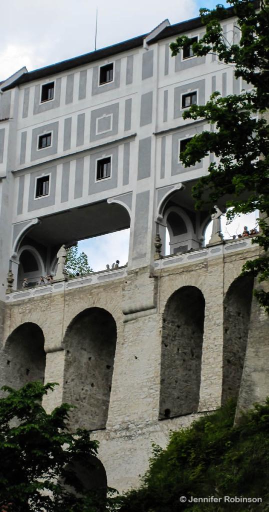 Cesky Krumlov-Cloak Bridge