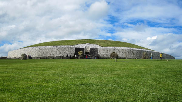 Ireland's Newgrange burial mound is more than 5,000 years old and remains a mystery. (Photo by Jennifer Robinson)